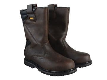 Classic Rigger Brown Safety Boots UK 8 EUR 42